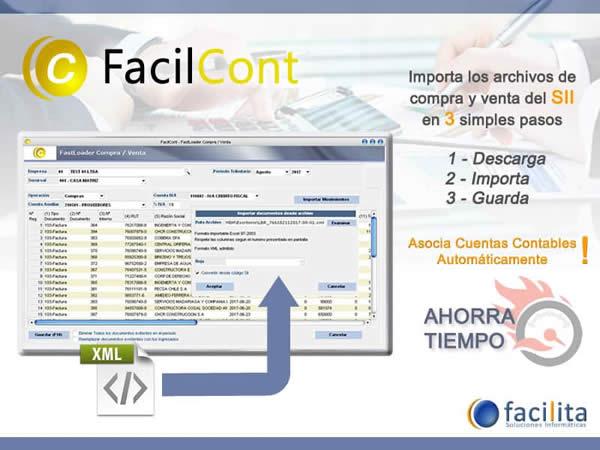 FacilCont - El mejor Software de Contabilidad