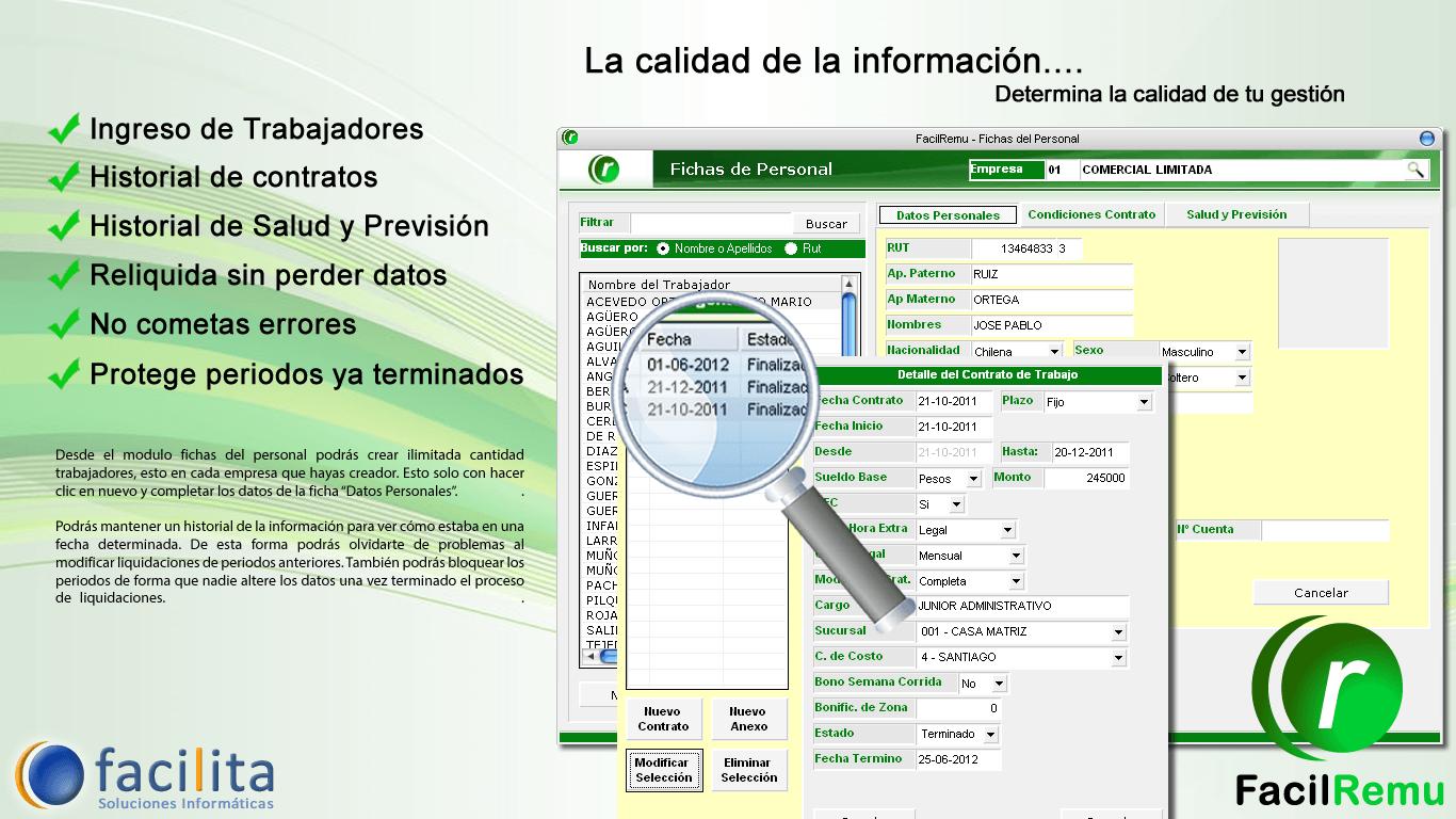 Software de Remuneraciones sin limite de personal